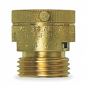 "3/4"" x 1-1/4"" Vacuum Breaker, GHT Connection Type"