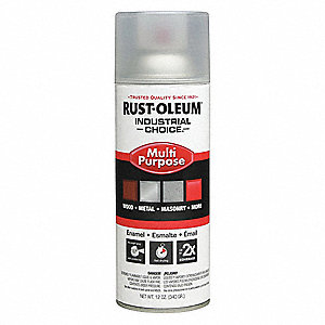 Spray Paint,Crystal Clear,12 oz.
