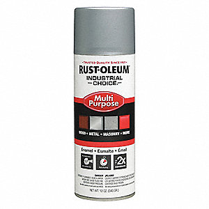 Spray Paint,Dull Aluminum,12 oz.
