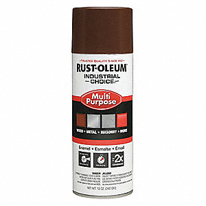 Industrial Spray Paint,Leather Brwn,12oz
