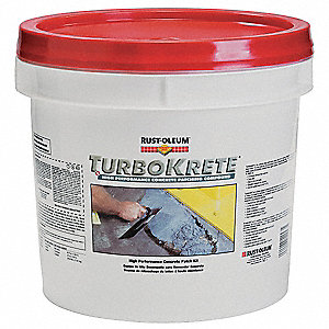 Light Gray Large Concrete Patching Compound Kit, Base (Part A) 55 fl. oz., Activator (Part B) 8 fl.