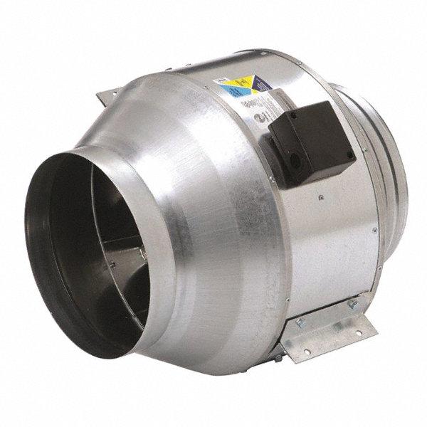 Small Inline Centrifugal Fan : Fantech steel inline centrifugal duct fan fits dia