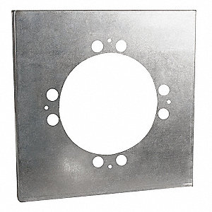 Adapter,19-3/4 In Round to 24 In Square