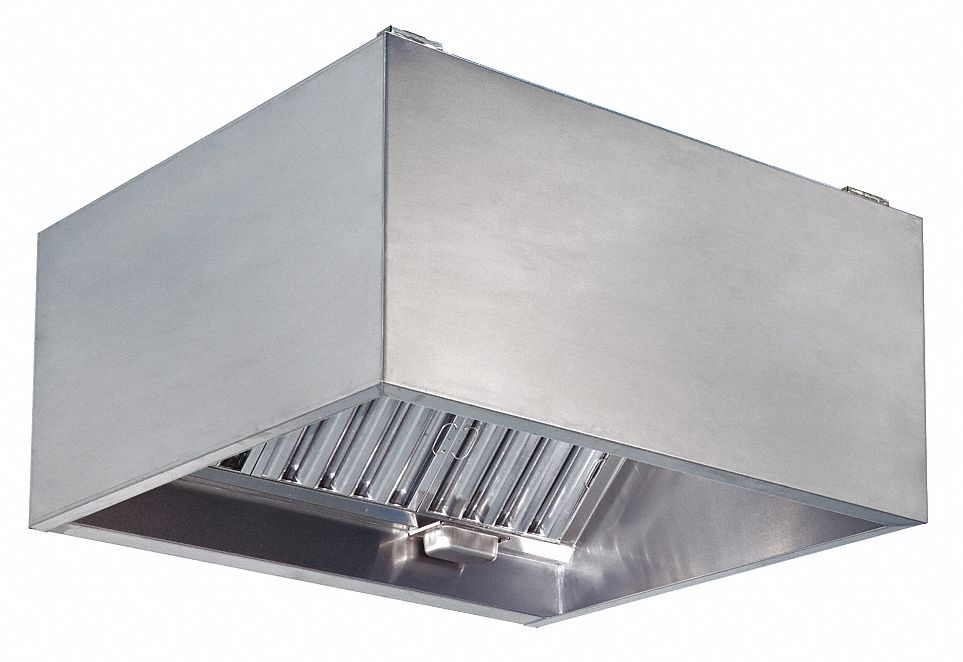 DAYTON Commercial Kitchen Exhaust Hood 430 Stainless Steel
