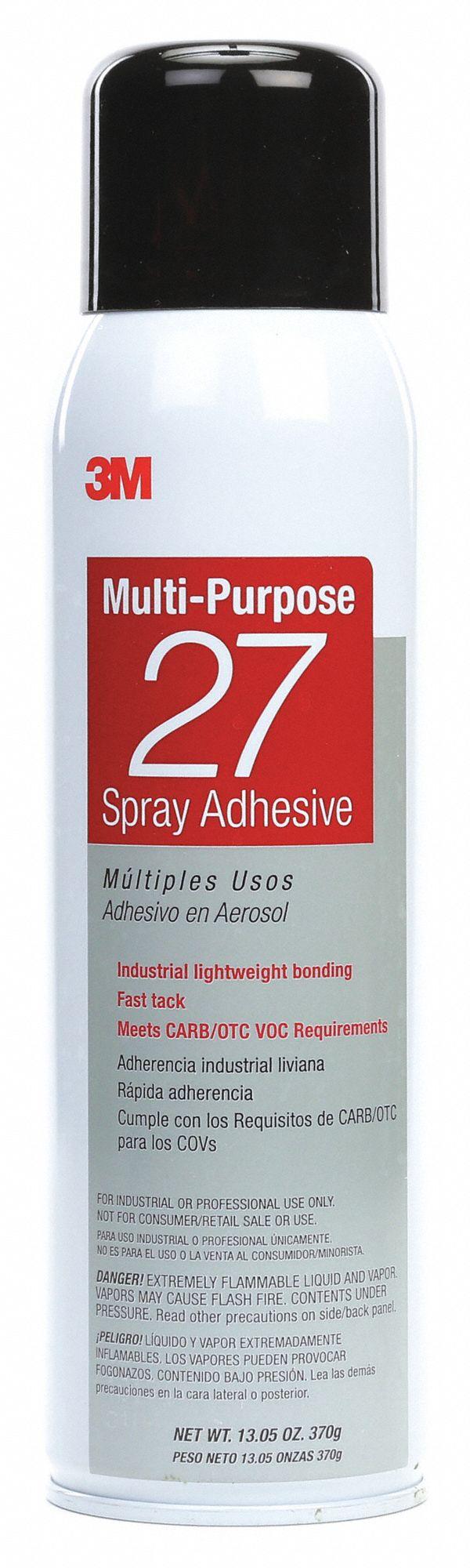 3M Spray Adhesive,Multipurpose,20 oz  Spray Adhesives 6KWY1