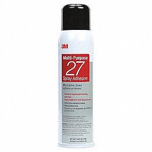 20 oz. Multipurpose Spray Adhesive with Temp. Range (F) of Up to 140°