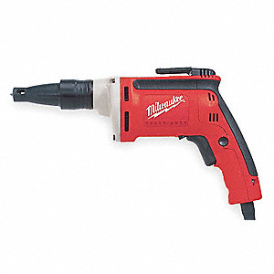 1/4 Hex Drywall Screwdriver, 6.5 Amps,   Max. Torque (In.-Lbs.)