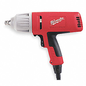 "1/2"" Impact Wrench, 120VAC Voltage, Detent Pin, 300 ft.-lb. Max. Torque"