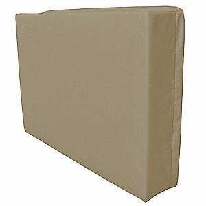 Exterior AC Cover,Fleece/Vinyl,Cobblestn
