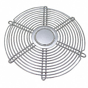 Wire Fan Guard, Intake, 1 EA,For Fan Size (In.) 6-3/4
