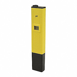pH Tester, 0-14 Range,For Use W/6KYV8