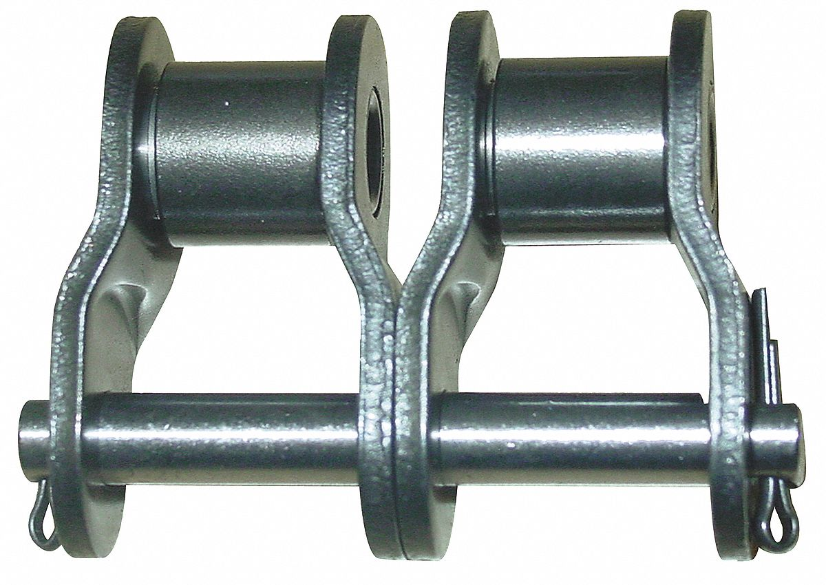 16B-2 DOUBLE STRAND ROLLER CHAIN OFFSET LINK *PACK OF 4* SAME DAY SHIPPING