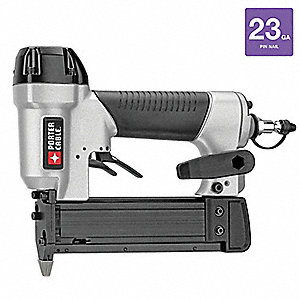 Adhesive Air Pin Nailer, Silver/Black