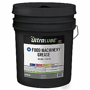 Tan Aluminum Complex Machinery Grease, 35 lb., NLGI Grade: 2