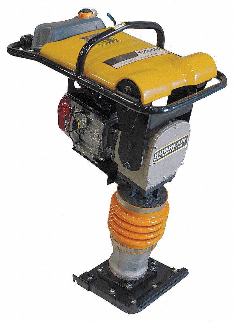 Tamping Ram, 11 in X 13 in Plate Size, 4000 lb Force, 350 to 700 VPM Vibration