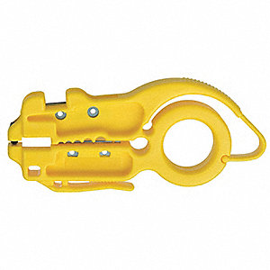 "Radial Cable Stripper,4-1/2"" Overall Length,Category 3, 5, 5E, And 6 Cables Cable Type"