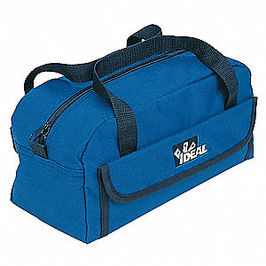 Synthetic Tool Bag, Mechanics, Number of Pockets: 10, Blue