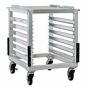 Slicer and Mixer Cart,12 Pan Capacity