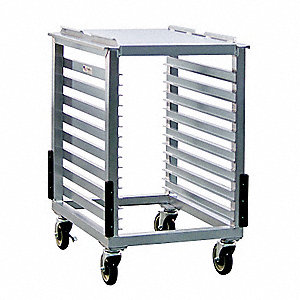 Slicer and Mixer Cart,16 Pan Capacity