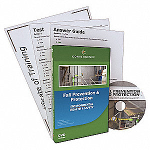 Convergence Training Fall Prevention and Protection DVD