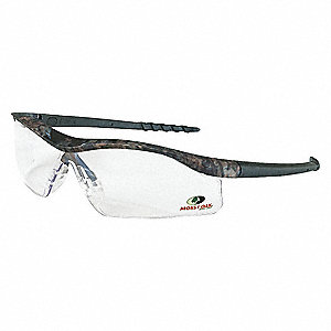 Mossy Oak® Scratch-Resistant Safety Glasses, Clear Lens Color