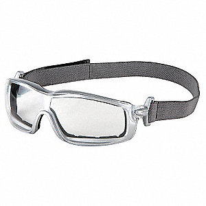 Crews® Anti-Fog Safety Glasses, Clear Lens Color