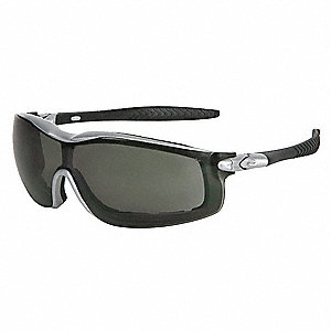 Crews® Anti-Fog Safety Glasses, Gray Lens Color