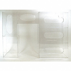 Infection Prevention Station, Number of Compartments 8, Clear Acrylic