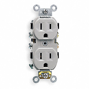 RECEPTACLE,WALL,15 A