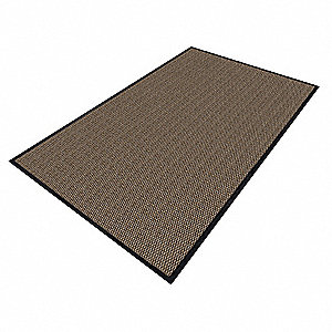 Pebble Yarn/PVC, Entrance Mat, 2 ft. Width, 3 ft. Length