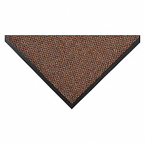 Carpeted Entrance Mat,Pebble,2ft. x 3ft.