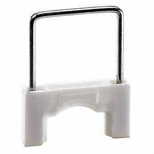 CABLE STAPLE,3/8IN,PLASTIC,PK200