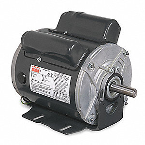 1 HP Poultry Fan Motor,Capacitor-Start/Run,1725 Nameplate RPM,115/208-230 Voltage,Frame 56