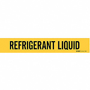 Pipe Mkr,Refrigerant Liquid,2-1/2to7-7/8