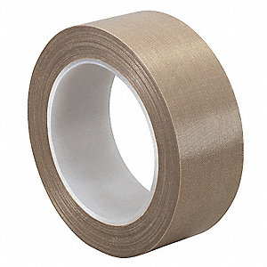 "Light-Duty Slick-Surface Tape, 1"" X 36 yd., 5.60 mil Thick, Brown Coated Cloth, 1 EA"