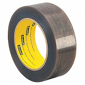 "Gray Extruded PTFE PTFE Film Tape, 6"" Width, 36 yd. Length, 6.70 mil Thickness"