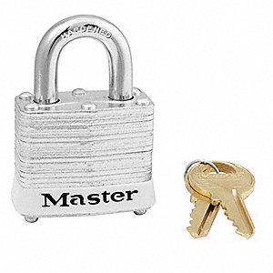 White Lockout Padlock, Alike Key Type, Master Keyed: No, Steel Body Material