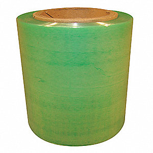 Hand Stretch Wrap,Green,700 ft,5In W,PK4