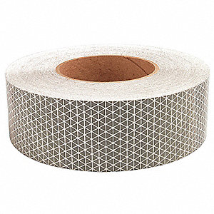 Reflective Tape,W 2 In,White