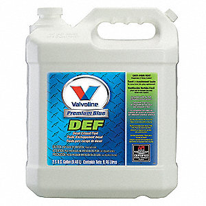 2.5 gal. Bottle Diesel Exhaust Fluid DEF&#x3b; For Use With All On/Off Highway SCR Systems