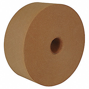 "450 ft. x 3"" Fiberglass Reinforced Kraft Paper Carton Sealing Tape, Natural"