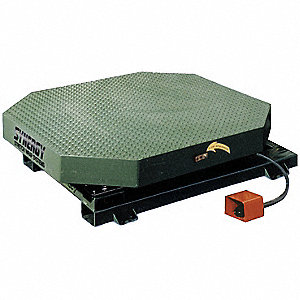 High Profile Stretch Wrap Turntable, 115VAC Voltage, 15 Amps
