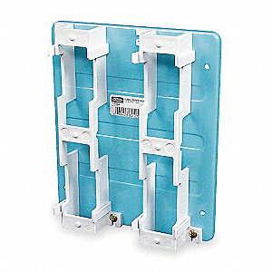 Modular 66 Block Backboard, 1 EA, For Use With Blue 89D and 89B Brackets
