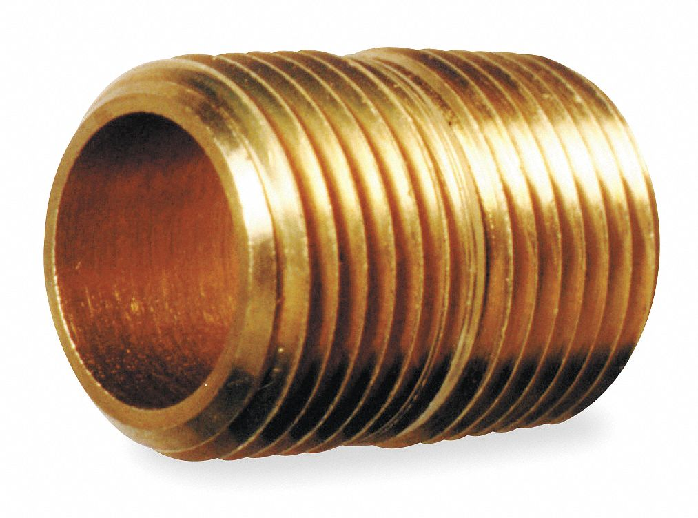 METALS ANDERSO CORP Standard Brass Nipple Bulk