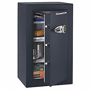 Security Safe,6.1 cu ft,Black