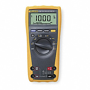 FLUKE (R) Fluke-179 Full Size - General Features Digital Multimeter, Instrument Counts: 6000