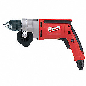 Electric Drill,1/2 In,0 to 850 rpm,8.0A