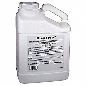 Bird Repellent, Weight: 1 gal., Used For Bird and Goose