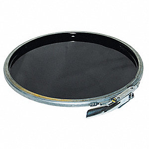 Steel Pail Lid,Lever Lock,For 1TMH6