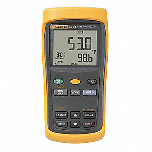 Thermocouple Thermometer,1 Input